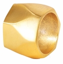 Bodrum Arch Gold Napkin Rings 4 Pack