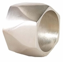 Bodrum Arch Silver Napkin Rings 4 Pack