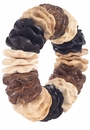 Bodrum Array Natural Napkin Rings 4 Pack