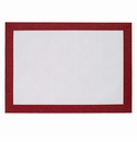 Bodrum Bordino Ruby Sparkle rectangle Place Mats 6 Pack