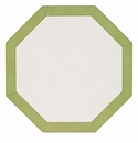 Bodrum Bordino White Willow Octagon Place Mats 6 Pack