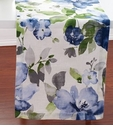 "Bodrum Bouquet Blue 90"" Table Runner"