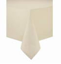 "Bodrum Brussels Ivory 90"" Round Tablecloth"