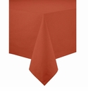 Bodrum Brussels Paprika 108 Round Tablecloth