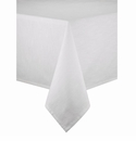 Bodrum Brussels White 108 Round Tablecloth