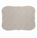 Bodrum Curly Oatmeal Oblong Place Mats 6 Pack