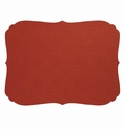 Bodrum Curly Paprika Oblong Place Mats 6 Pack