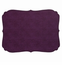 Bodrum Curly Plum Oblong Place Mats 6 Pack