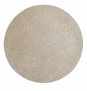 "Bodrum Gator Pearl 16"" Round Place Mats 6 Pack"