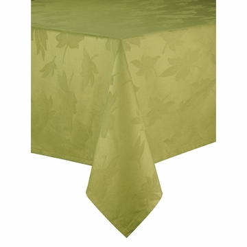 Bodrum Leaves Grass 71x120 Table Cloth
