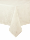 Bodrum Leaves Ivory 90 Round Table Cloth