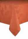 Bodrum Leaves Paprika 108 Round Table Cloth