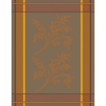 Bodrum Linens Andros Paprika Olive Dish Towel