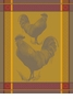 Bodrum Linens Andros Yellow Rooster Dish Towel