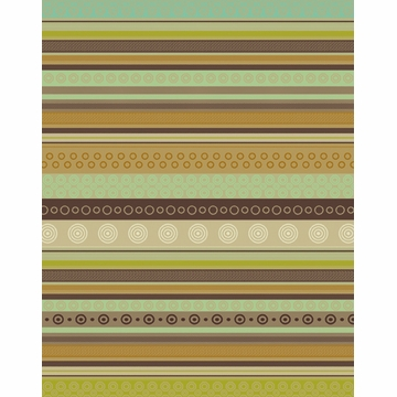 Bodrum Linens Geo Taupe Dish Towel 6 Pack