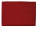 Bodrum Lucent Red Coated Place Mats 6 Pack