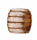 Bodrum Pearlized Fence Napkin Rings 4 Pack