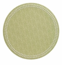Bodrum Pearls Fern White Place Mats 6 Pack