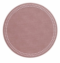 Bodrum Pearls Mauve Rose Place Mats 6 Pack