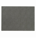 "Bodrum Presto Charcoal 13""x18"" Place Mats 6 Pack"
