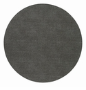"Bodrum Presto Charcoal 15"" Round Place Mats 6 Pack"