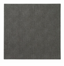 "Bodrum Presto Charcoal 15"" Square Place Mats 6 Pack"