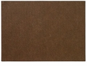 "Bodrum Presto Chocolate 13""x18"" Place Mats 6 Pack"