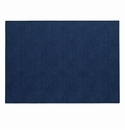 "Bodrum Presto Navy 13""x18"" Place Mats 6 Pack"