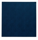"Bodrum Presto Navy 15"" Square Place Mats 6 Pack"