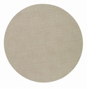 "Bodrum Presto Oatmeal 15"" Round Place Mats 6 Pack"