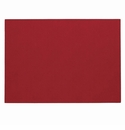 "Bodrum Presto Red 13""x18"" Place Mats 6 Pack"