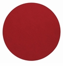 "Bodrum Presto Red 15"" Round Place Mats 6 Pack"