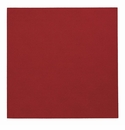 "Bodrum Presto Red 15"" Square Place Mats 6 Pack"