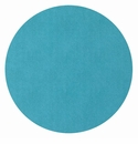 "Bodrum Presto Turquoise 15"" Round Place Mats 6 Pack"