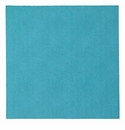 "Bodrum Presto Turquoise 15"" Square Place Mats 6 Pack"