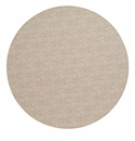 "Bodrum Pronto Beige 15"" Round Place Mats 6 Pack"