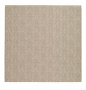 "Bodrum Pronto Beige 15"" Square Place Mats 6 Pack"