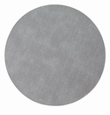 "Bodrum Pronto Gray 15"" round Place Mats 6 Pack"