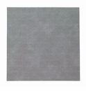 "Bodrum Pronto Gray 15"" Square Place Mats 6 Pack"