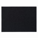 "Bodrum Skate Black 13""x18"" Rectangle Place Mats 6 Pack"