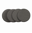Bodrum Skate Charcoal Round Coaster 4 Pack
