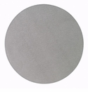 "Bodrum Skate Gray 16"" Round Place Mats 6 Pack"