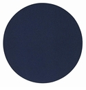 "Bodrum Skate Navy 16"" Round Place Mats 6 Pack"