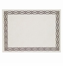 Bodrum Trellis White Gray Place Mats 6 Pack