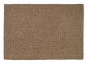 Bodrum Twill Tobacco Coated Place Mats 6 Pack