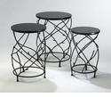 Branch Drum Tables Set of 3 by Cyan Design