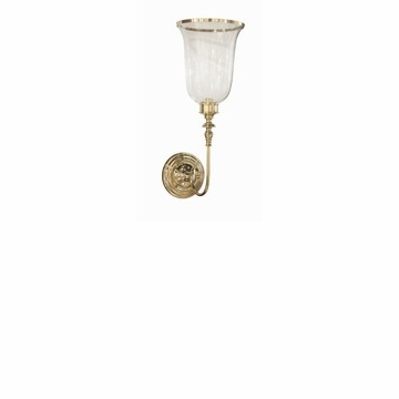 Brass Loop Wall Sconce Home Decor