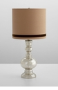 Brea Mercury Glass Table Lamp by Cyan Design