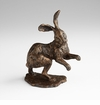 Brer Rabbit Bronzed Sculpture by Cyan Design