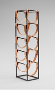 Brighton 5 Bottle Tower Wine Rack by Cyan Design